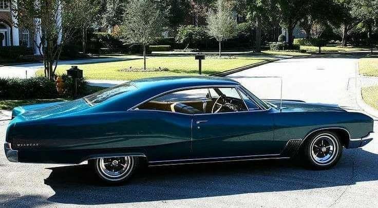 '67 Buick Wildcat...great lines....K