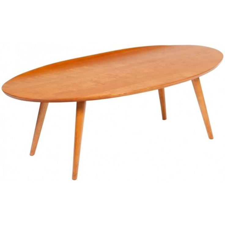 1950s Russel Wright For Conant Ball Surfboard Coffee Table Cocktails Antiques And Cocktail Tables