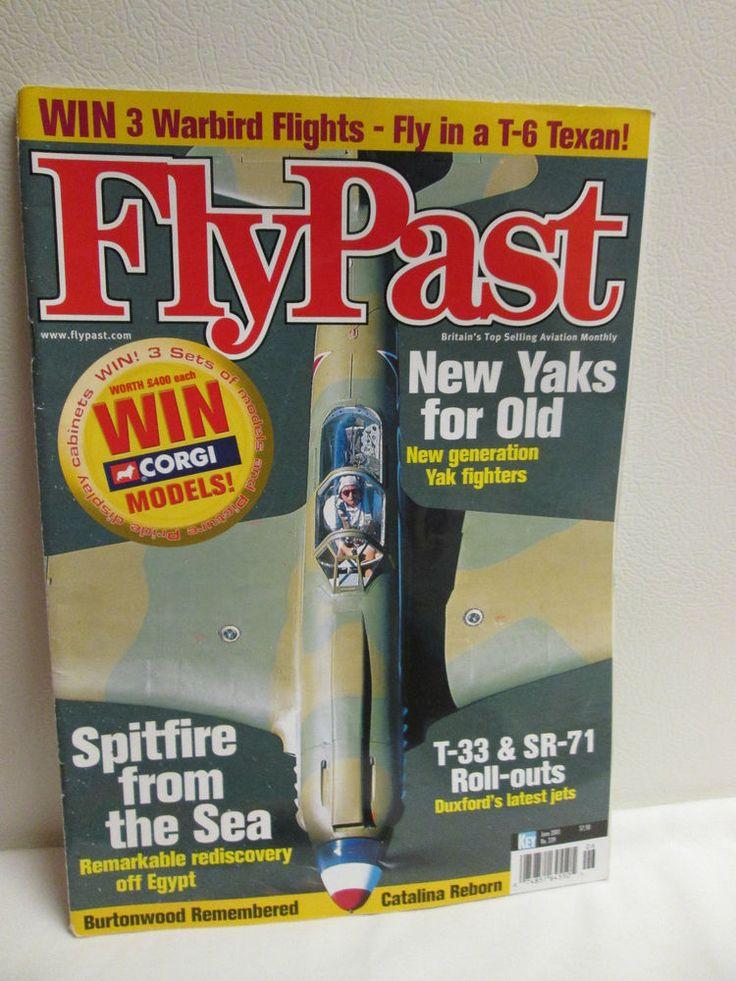 FLYPAST  JUNE 2001 Aviation Airplane Magazine