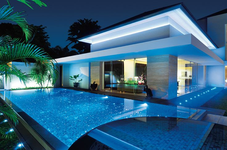 Residential tiled swimming pool using Agrob Buchtal mosaics.  See Ceramic Solutions for stocks.