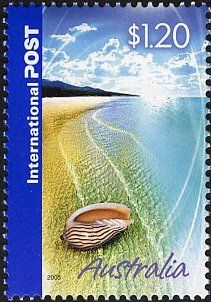 Stamp: Shell (Australia) (Greetings Stamps) Mi:AU 2428,Yt:AU 2318,Sg:AU 2500