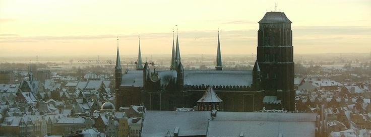 Gdańsk zimą / #Gdansk in #winter, Author: Jarosław Marciuk