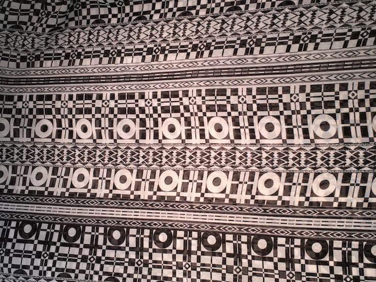 Chiffon Print Black/White
