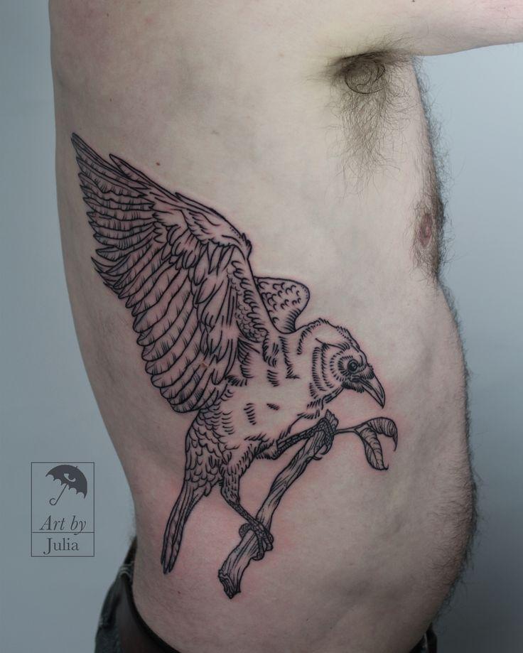 black, blackwork, black work, black tattoo, blackwork tattoo, black work tattoo, raven, raven tattoo, bird, bird tattoo, eagle, eagle tattoo, hawk, hawk tattoo, falcon, falcon tattoo, birds of prey, predator, predator tattoo, nature, nature tattoo, natural, natural tattoo, line, linework tattoo, linework, line work, line work tattoo, brooklyn, brooklyn tattoo, greenpoint, greenpoint tattoo