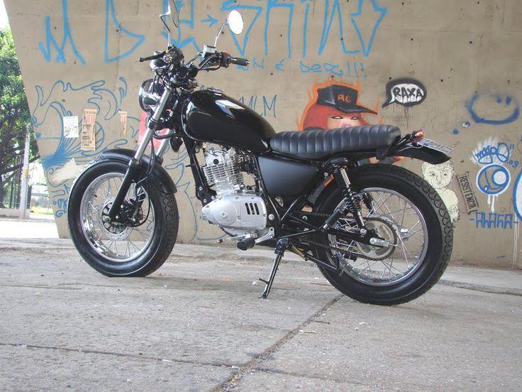 suzuki intruder 125 cafe moto custom cafe racer pinterest. Black Bedroom Furniture Sets. Home Design Ideas
