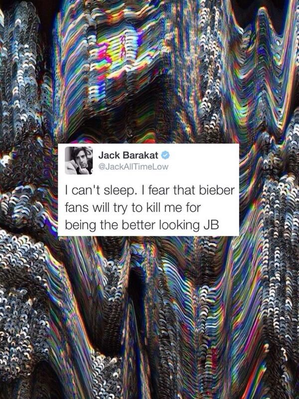 Hahaha one of the many reasons why I love Jack Barakat