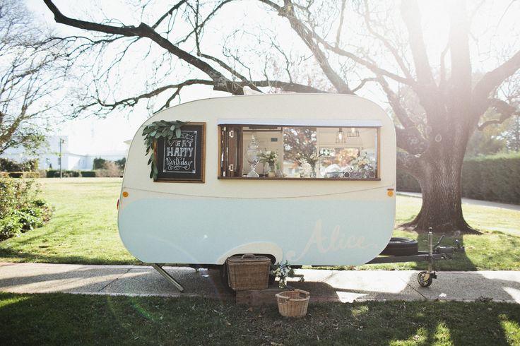 My Sweet Alice. Vintage caravan, pop-up bar and cafe