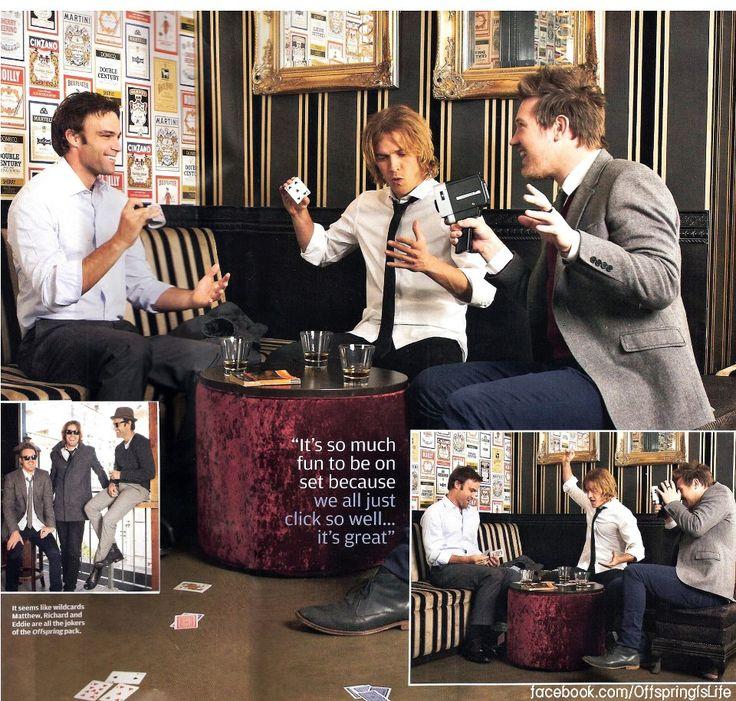 Offspring - Matt Le Nevez, Eddie Perfect and Rick Davies
