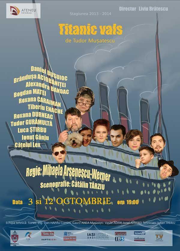 Titanic Vals @ Ateneul Tatarasi