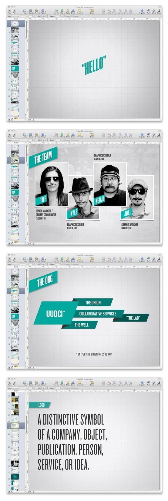 Best Keynote Presentation Design Images On