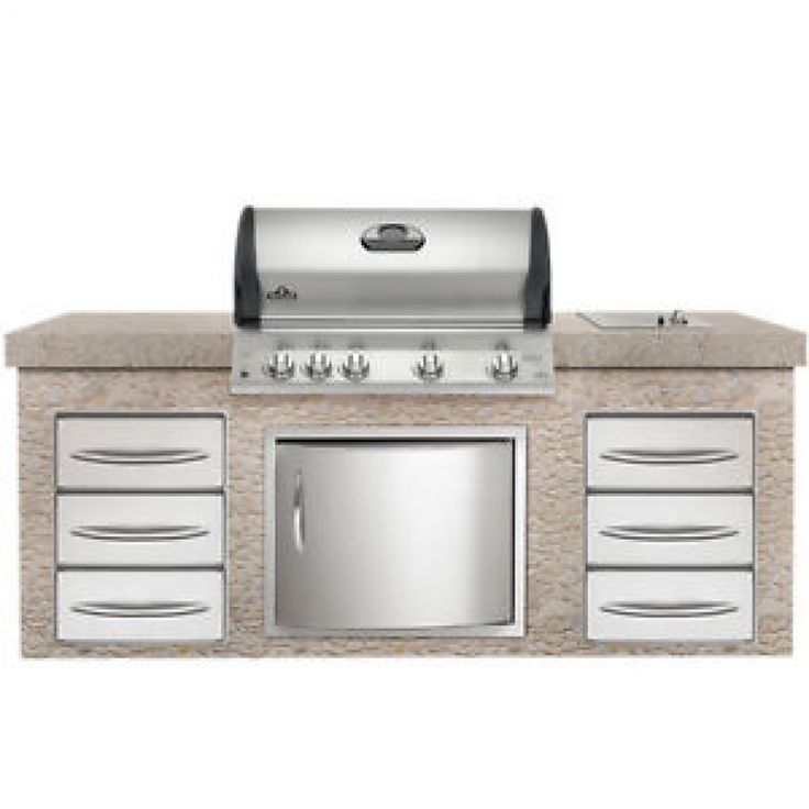 Napoleon-Mirage-Gas-Grill-Propane-or-Natural-Gas-BBQ-Built-In-Limited ...