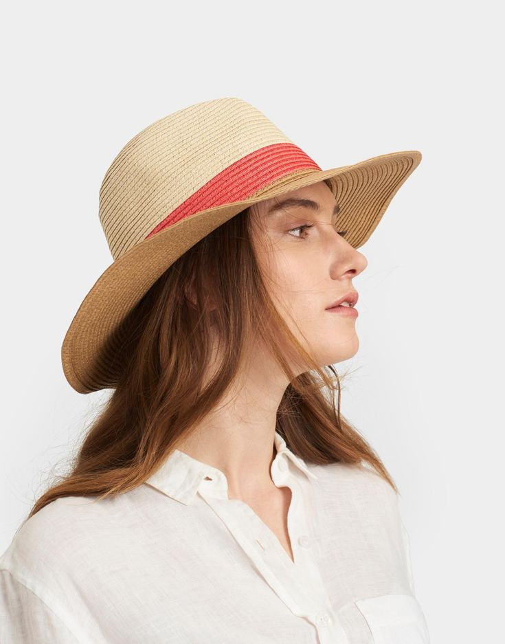 Dora Natural Hat , Size One Size | Joules UK