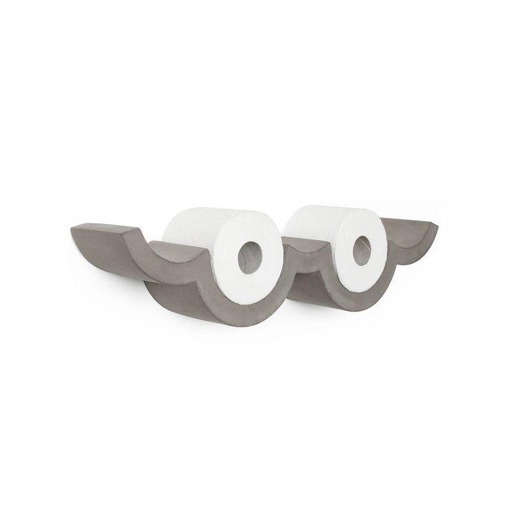 Cloud – S Toilet paper holder | Lyon Béton US website
