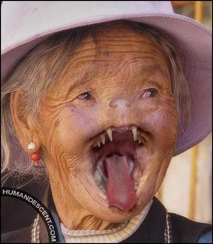 Funny Old People Faces | Stupid Funny Pics: random weird & ugly people