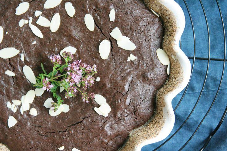 Gluten free beet brownies / Bezlepkové brownies s řepou