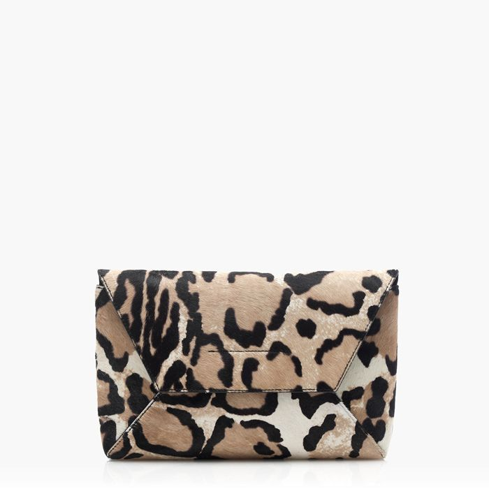 VIDA Leather Statement Clutch - MiniPoni by VIDA