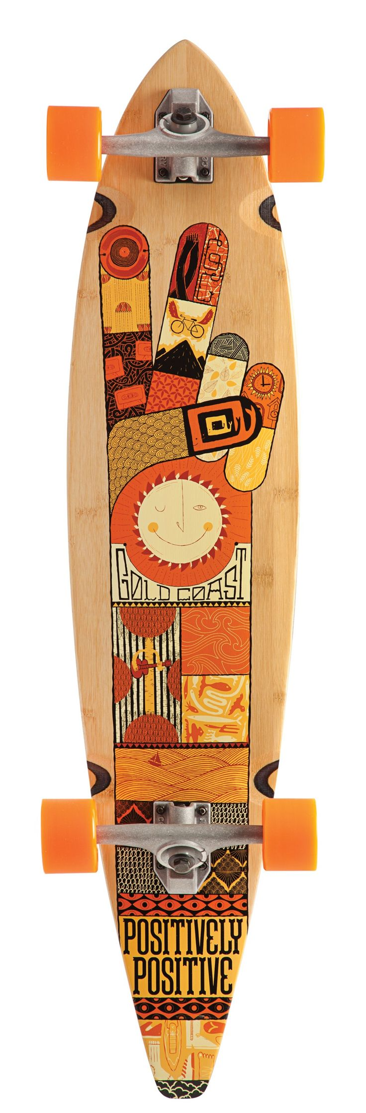 Skateboard clip art images skateboard stock photos amp clipart - New Drop Through Pintail Longboard Completes Decks In Stock The Design Leader In Skateboarding