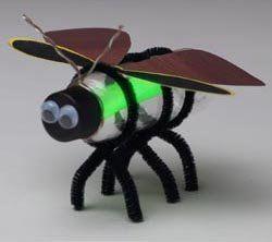 firefly / lightning bug craft project