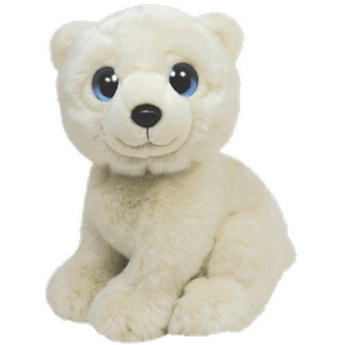 Ty Stuffed Animals | TY Classic Plush - Wild Wild Best - ICEBERG the Polar Bear WONDER GEEK