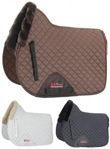 Shires Performance Supafleece Lined Dressage Pad | HorseLoverZ
