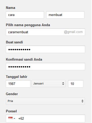 cara daftar buat akun baru email gmail, yahoo dan facebook