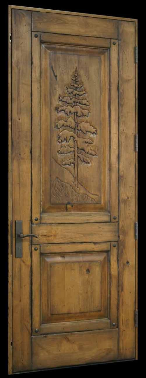 Carved Tree 3 0 8 0 Stan Top Door in a Door Angled cropped.jpg 501×1,293 pixels