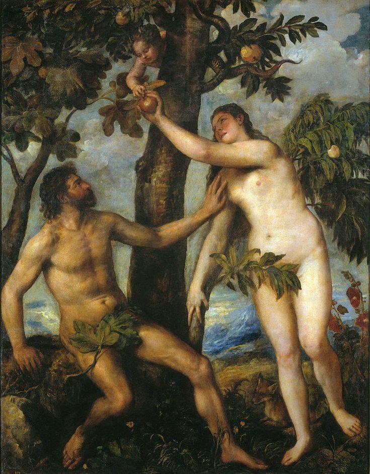 Αδάμ και Εύα  Τιτσιάνο (1550)