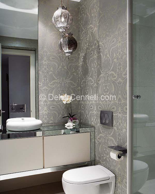 Harika banyo fayansları için duvar kağıtları Görselleri