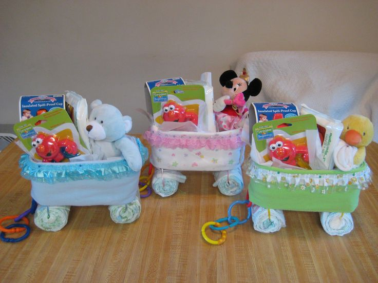 Welcome Wagon Diaper Cakes