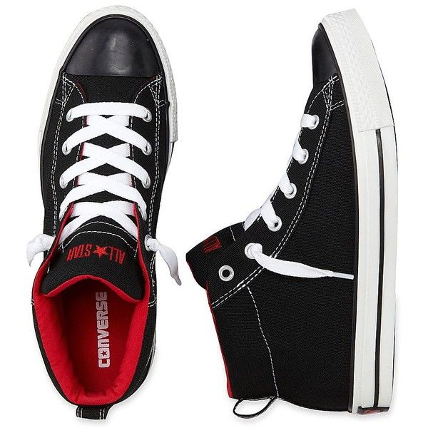 Converse Street Shoes ($50) ❤ liked on Polyvore