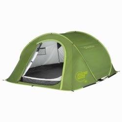 kemping- és túrafelszerelés sátrak sátor - 2 SECONDS III zöld