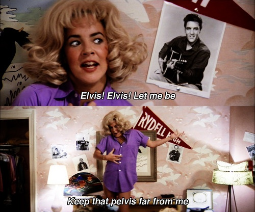 Look At Me I'm Sandra Dee, rizzo in grease