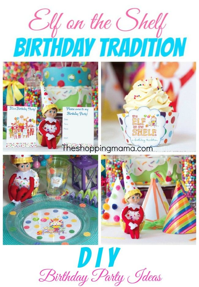 The Elf on the Shelf: A New Birthday Tradition | @TheShoppingMama