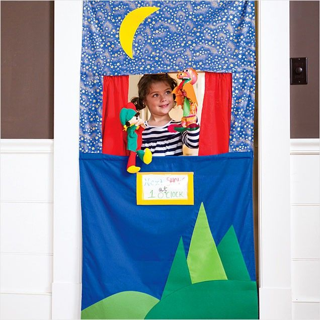 Best Christmas Gifts for Babies and Toddlers: Magic Cabin Doorway Puppet Theatre