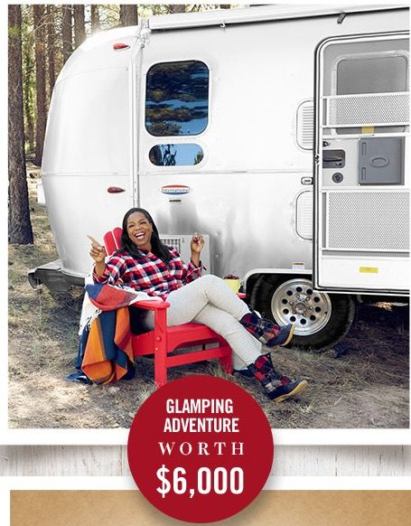 Oprah Magazine Auto Camp Airstream Adventure Sweepstakes