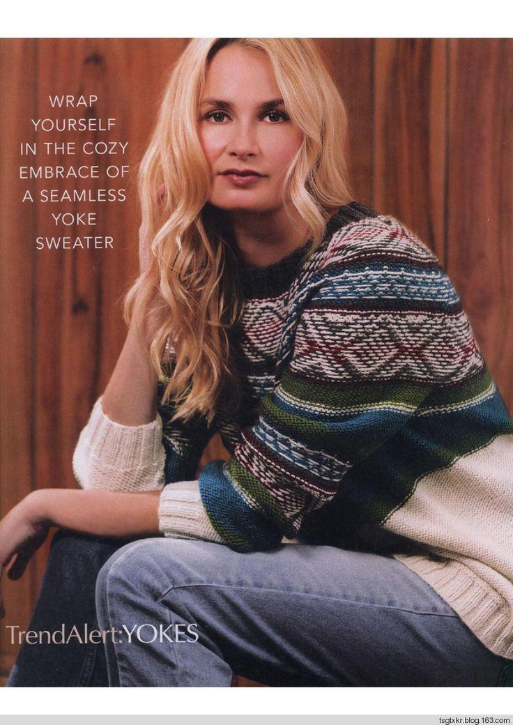 Vogue Knitting Winter 2017-2018 - 轻描淡写 - 轻描淡写