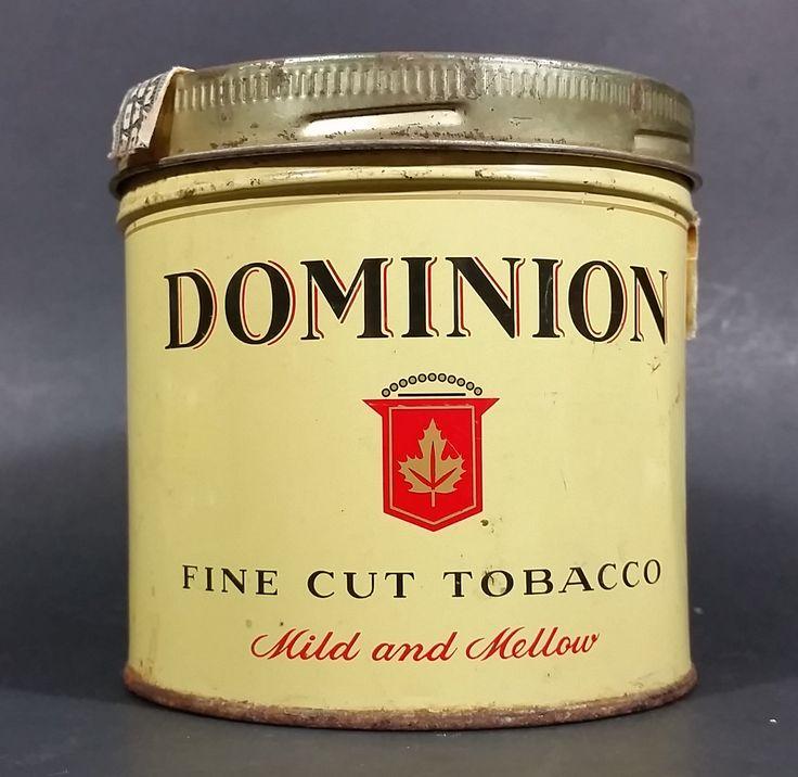 Vintage Dominion Mild & Mellow Fine Cut Tobacco Tin With Lid https://treasurevalleyantiques.com/products/vintage-dominion-mild-mellow-fine-cut-tobacco-tin-with-lid #Vintage #Dominion #Mild #Mellow #FineCut #Tobacco #Tobacciana #Tins #VintageTins #Cans #Imperial #Collectibles #Canada #Canadian #Mancave #Garage #Decor #Decorative #Smoking #Smokes #Cigarettes