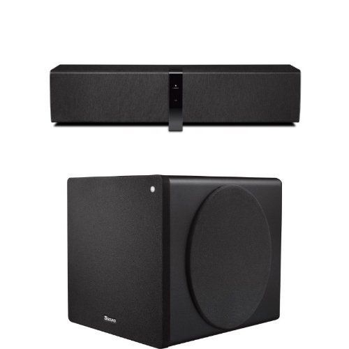 creative ziisound d5x modular wireless speaker system with bluetooth transmitter placed within the amazon