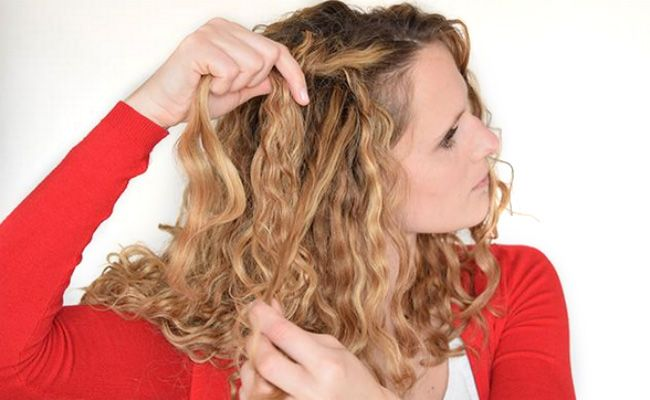 how to do a waterfall braid  Remember, waterfall braids in naturally curly hair don't need to be perfectly neat.