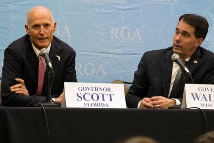 Republican Governors 2018 Dilemma: What to Do About Trump?
