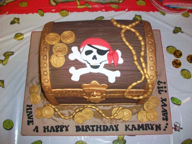 Kamryns' Pirate Birthday Cake