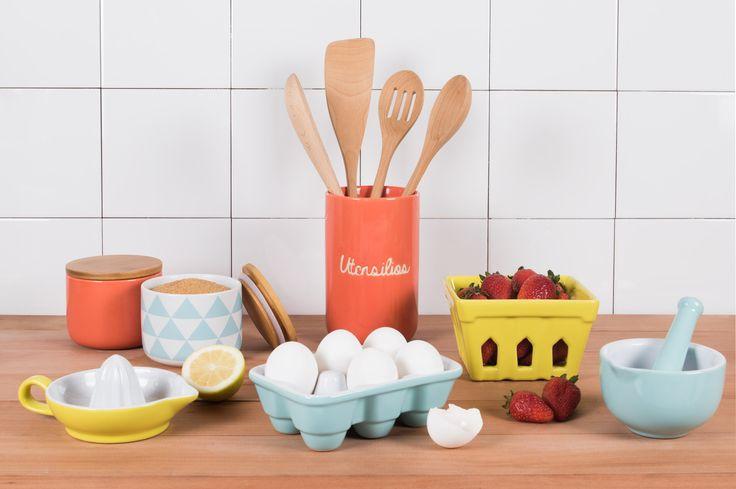 Decora y haz más útil tu cocina con nuestros productos de cerámica. Otoño - Invierno 2016.
