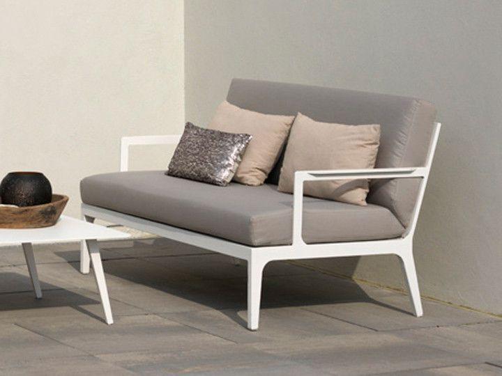 SEVILLA Lounge Garten Sofa 2-Sitzer von Exotan #garten #gartenmöbel #gartensofa #gartenlounge #loungegruppe #sitzgruppe #gartensessel #alu #modulsofa #ganzjährig #wetterfest #günstig #kaufen #design #designmöbel