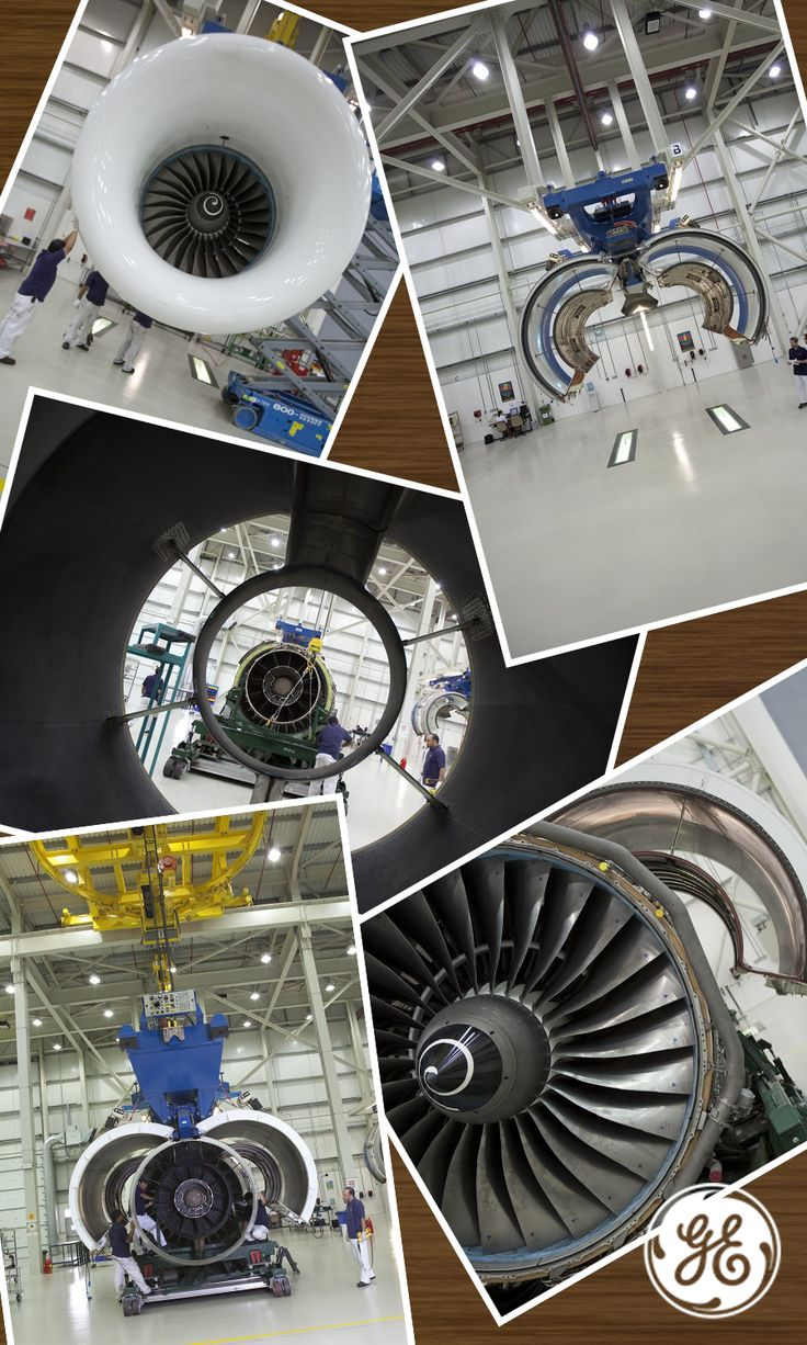 Our GE90 engine is the largest and most powerful commercial jet engine ever built.