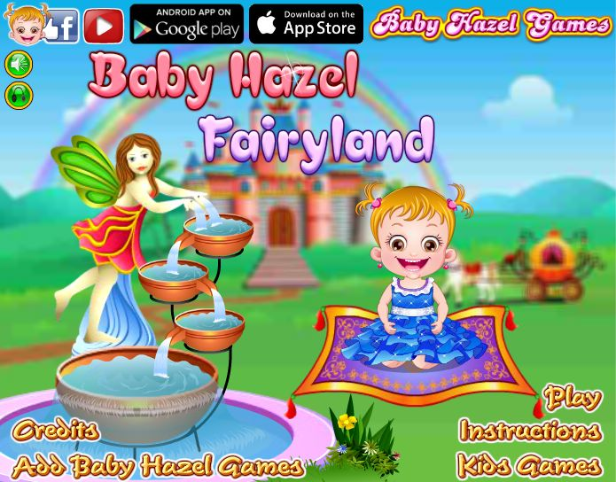 Baby Hazel's wish to visit fairyland is fulfilled by a magician. But she has to get pink flower for him as a gift. Can you help to hunt for the flower? http://www.babyhazelgames.com/games/baby-hazel-fairyland.html