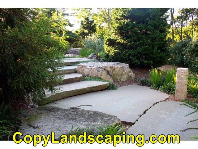 Landscape Boulders South Jersey : Rocks vs mulch outdoor stuff landscaping