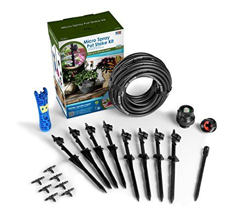Mister Landscaper Micro Spray Pot Stake Kit Gt New And