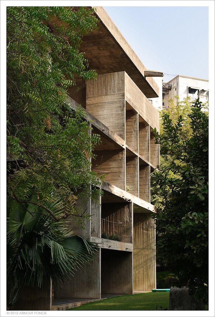 Villa Shodhan. 1951. Ahmedabad, India. Le Corbusier.