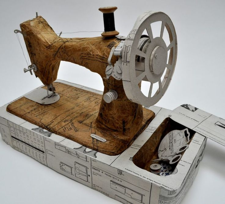 Paper Singer Sewing Machine | Made By Hand Online Jennifer Collier - Maestra!
