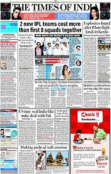 30 September 2016 Times Of India (TOI) Epaper - mumbai Edition